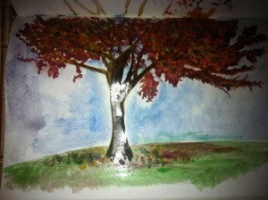 Water colour tree 0.2.5