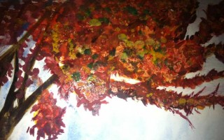 Water colour tree 0.1